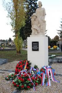 10.11.2016 – Pamätník zmierenia na cintoríne Sv. Jozefa v N. Zámkoch