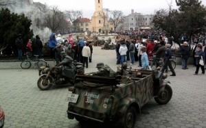 Ukážka bojov pri oslobodení Nových Zámkov 2011