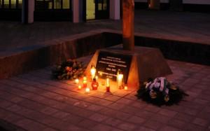 Pamätný kríž 2011