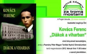 9.2.2012. Gymnázium maďarské