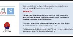 28.11.2012. Komárno – Matica slovenská