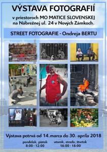 14.3.2018 – Street fotografie Ondreja Bertu