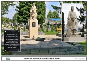 Pamätník zmierenia v Cintoríne sv. Jozefa