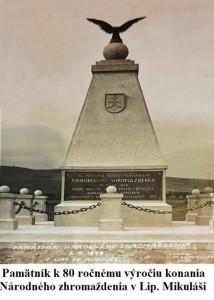 Pamätník k 30 ročnému výročiu vzniku Slovenskej republiky