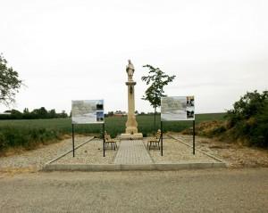 Dňa 13.5.2020, upratovanie priestoru pri soche sv. Jána Nepomuckého na Zúgove.