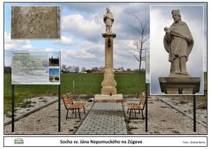 Socha sv. Jána Nepomuckého na Zúgove.