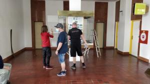 V dňoch 15. a 26.5.2020 sa konala úprava, vyčistenie vitríny na galérii v Železničnej stanici Nové Zámky.